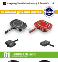 hot stone keep food warm pot cooking double side fry pan