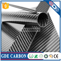 Twill 30mm Carbon Fiber Tube 30mm
