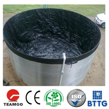 Anti seepage and anticorrosive hdpe black plastic drum inner geomembrane liner for sale