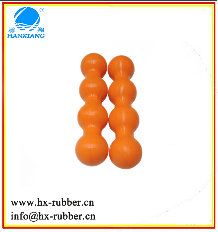 Custom Colorful Massage Ball Double Lacrosse Ball Deep Tissue Acupoint Balls for Thoracic Spine Upper Back