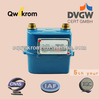 residential diaphragm gas meter G1,6 natural gas meter