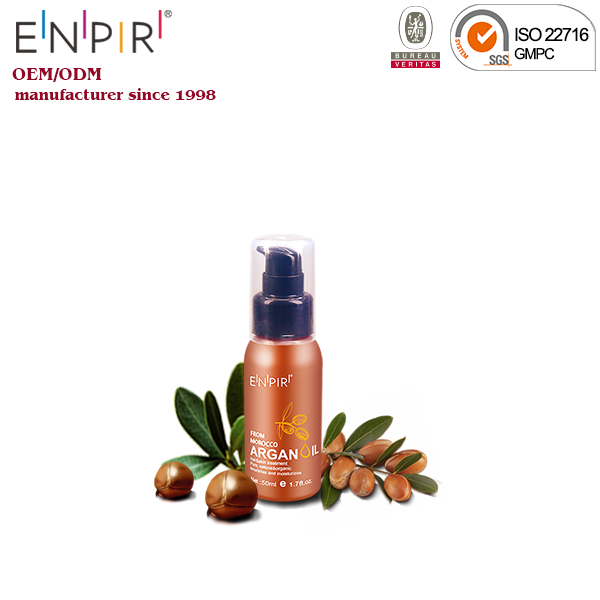 Private label argan oil good quality hair oil names for hair and skin 50ml