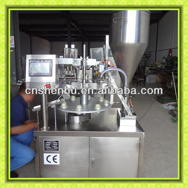 Semi-Automatic Aluminum Tube Filler and fold machine