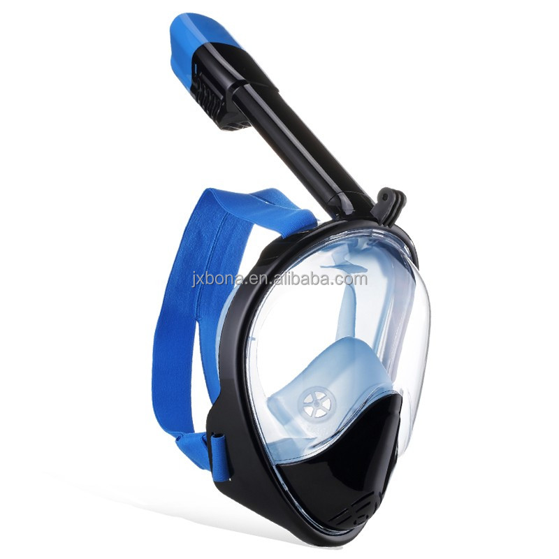 New Premium Diving Mask Seaview <strong>180</strong> Panoramic Snorkel Mask,Full Face Snorkel Mask Fog Snorkeling For Gopro Camera On Amazon
