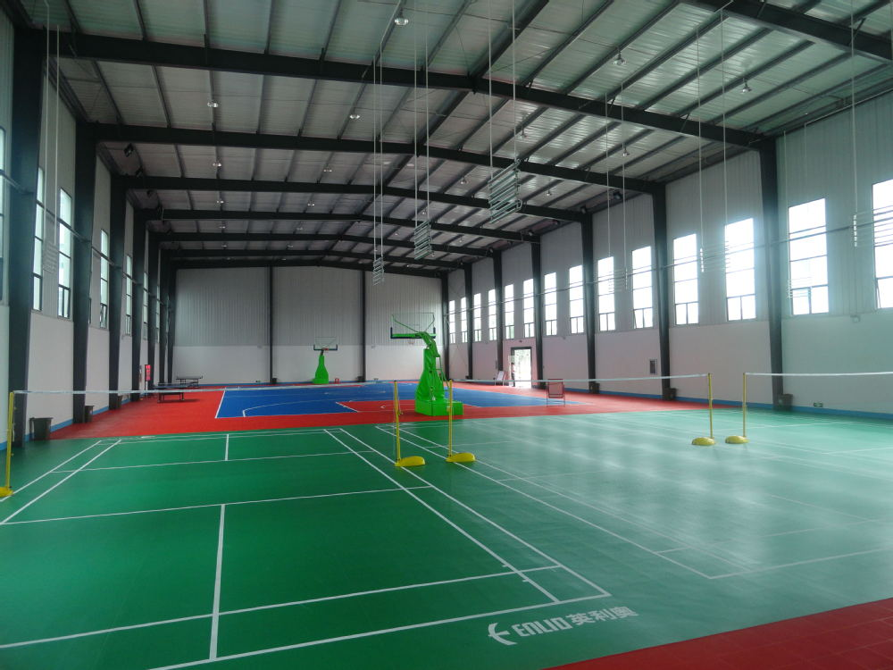Pics for indoor badminton court for Indoor badminton court height