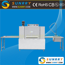 Special commercial general stainless steel electric double spray tunnel type dishwasher