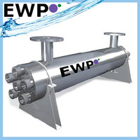 Ultraviolet water sterilizer aquafine machine