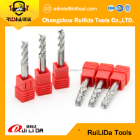 Solid Carbide Bull Nose Cutter For CNC Machine/Metal Milling Tool Sets For Processing