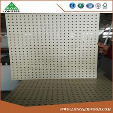 Melamine Faced Decorative MDF pegboard