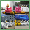 water amusement park lakes fiberglass inflatable water bikes 2-4 person used swan self draining pedalo paddle boats for sale