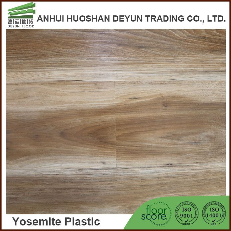 Glueless Click lock Nature wood pattern plank LVT vinyl pvc laminate flooring