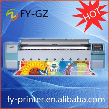 2015 New ECO Solvent printer, 3.2m width with SPT 508GS head