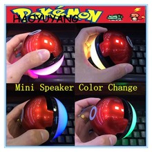 2017 Pokemon Speaker Wireless With TF, FM And Mic Go Speaker Wholesale