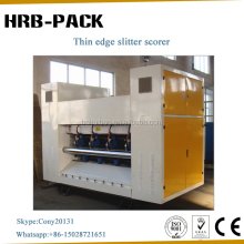 Corrugated Paperboard Thin Blade/Paper Slitting Scoring Machine/Automatic Packing Machine