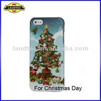 For iPhone 5 Diamond Case, Bling Crystal Plastic Case Cover, Christmas Promotional