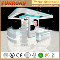 Perfume Display Glass Showcase Store Furniture plywood Showcase Designs