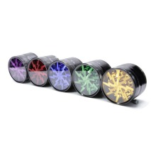 Best Selling zinc alloy /aluminum grinder weed with logo Made in china
