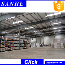 Fast construction beautiful design prefabricated industrial steel structure hall