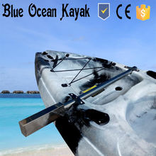 Motor bracket for electric trolling motor of kayak from Blue Ocean Kayak