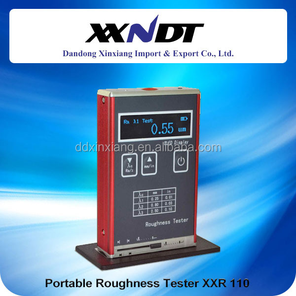 Roughness measuring instrument smooth surface testing machine