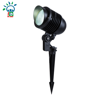 park white green yellow projection spotlight 12W led outdoor spike garden light