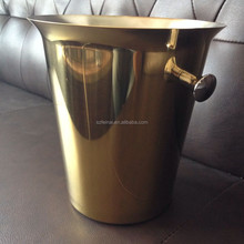 Stainless Steel wine ice bucket Gold Ice Buckets 5L Champagne Beer Chillers