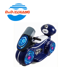 Best gift plastic electric kids motorcycle price with light and music
