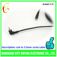 China Customized high quality usb to 3.5mm audio cable