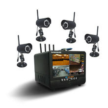 Screen LCD 4CH Combo DVR with Mobile View