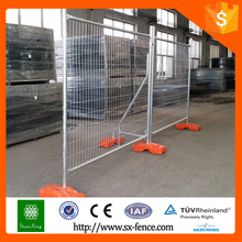 Australia or Canada high standard Galvanized / PVC coted Temporary Fence/Mobile Fencing /Portable