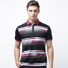 fashion double Mercerized cotton men t shirt polo