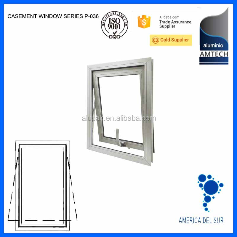 aluminium casement window P-036