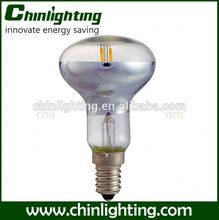 New led bulb manufacturing plant mushroom incandescent clear bulbs r50 led sapphire filament r50 bulb