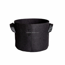 Amazon Round cocopeat felt grow bag fabric grow pot