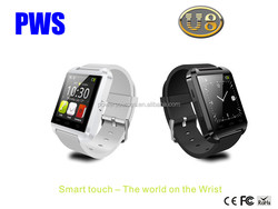 Cheapest plastic bluetooth smartwatch U8 for andriod smartphones