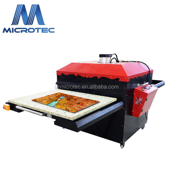 High Quality Large Format Pneumatic Double Station Heat Press Transfer Machine