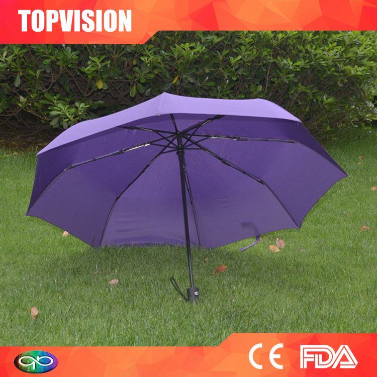 Reasonable & acceptable price factory supply auto open 2 folding golf umbrella
