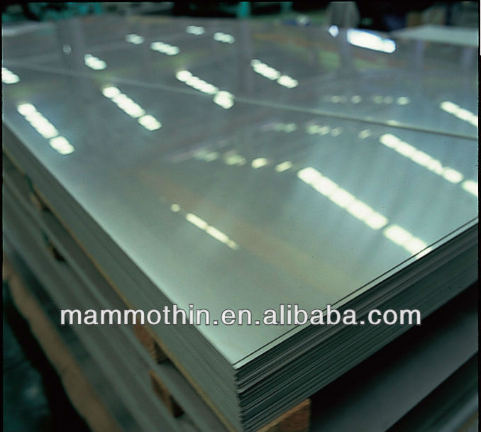 304 8K Mirror Finished Stainless Steel Sheet