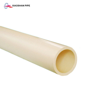 ASTM standard 1 inch cpvc pipe for hot and cold water supply