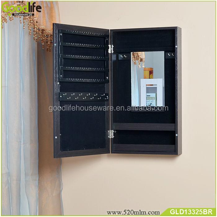 GLD13325mirror jewelry cabinet-7