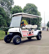 New CE Approved 4 seater New 4 seats gas Hunting golf cart, offroad