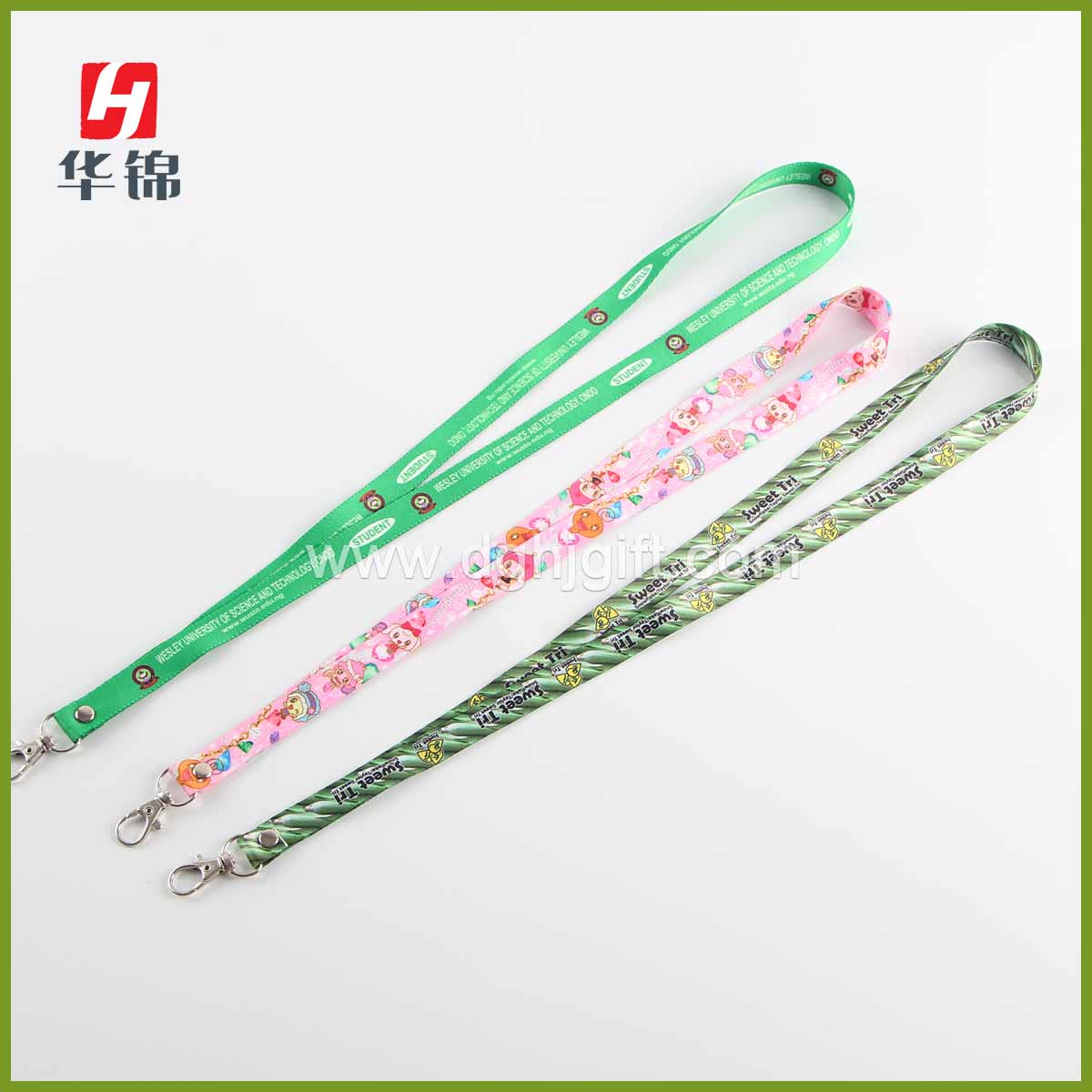 "5/8"" Dye sub lanyard imports from China"