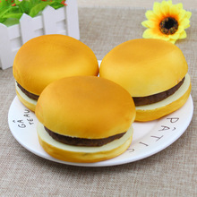 PU Separable Slow Rising Simulation Bread Hamburger Aroma Squishy Toys