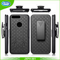 Weave pattern combo holster belt clip mobile phone case for Google Pixel XL