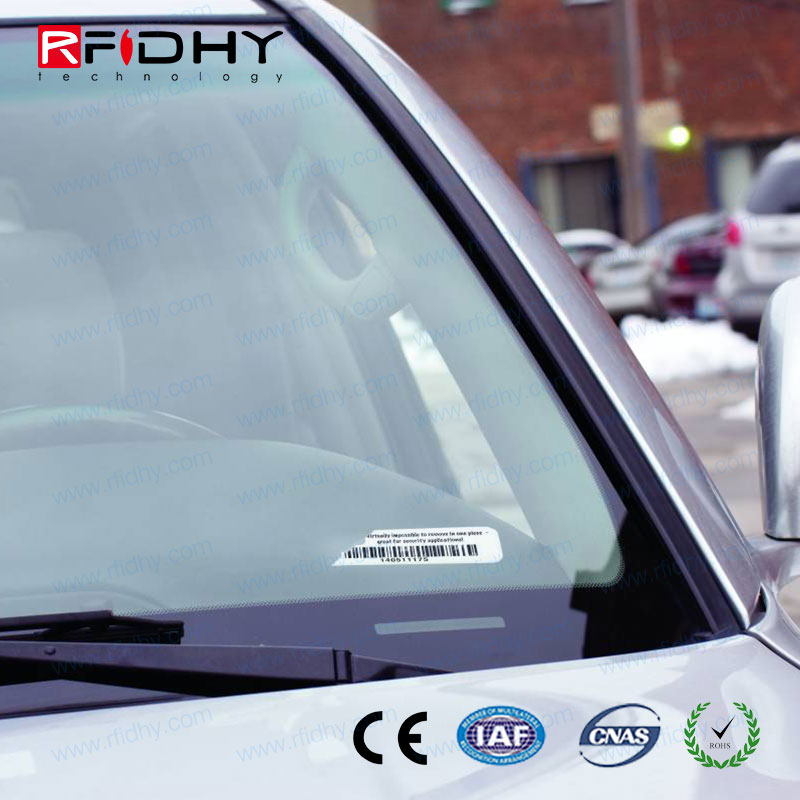 low cost ISO18000 6C EPC GEN2 Car Windshield UHF RFID tag,RFID alien H3 chip sticker for Car