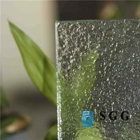 Smart extra clear rolled glass for shower door,extra clear patterned glass