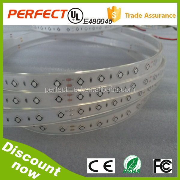 cheap flexible magic <strong>rgb</strong> 5050 smd led strip light 14.4w/m with UL