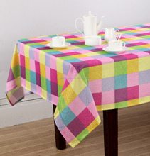BAMBOO PRINTING POLYESTER TABLE CLOTH