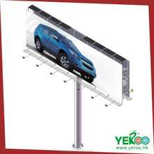 Government project outdoor cross street double side highway billboards
