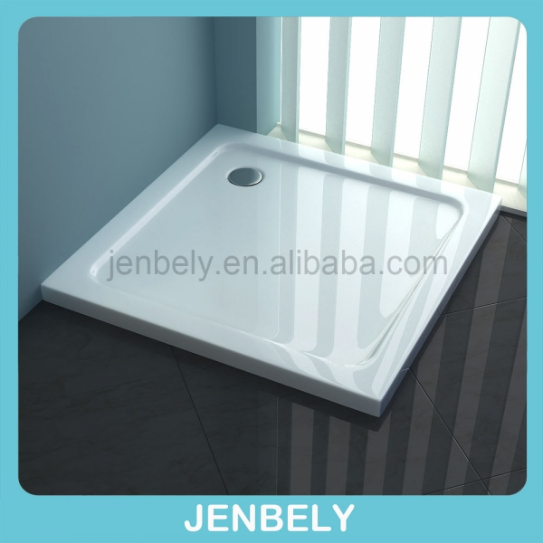 solid surface square high grade ABS shower base